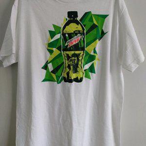Mountain Dew T-shirt Size Medium